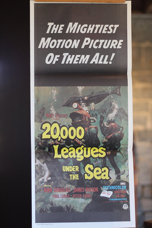 20,000 Leagues under the sea - daybill