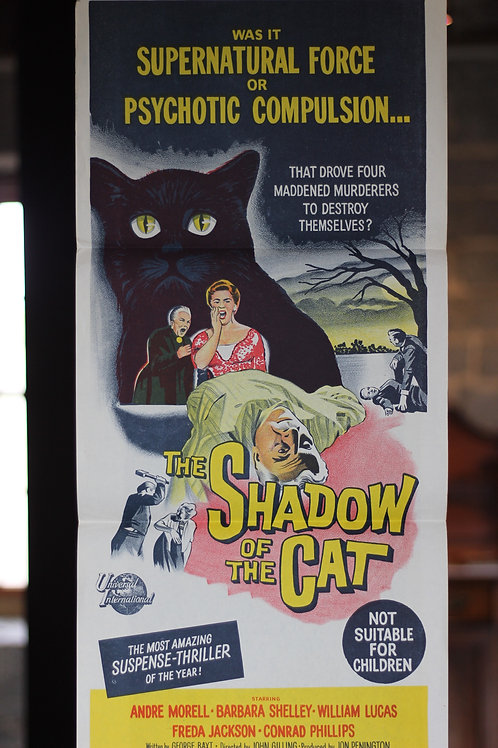 The Shadow of the  Cat - daybill