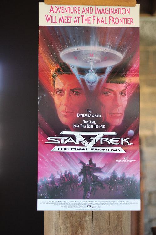 Star Trek - The Final Frontier - daybill