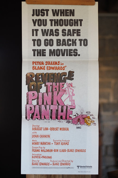 Revenge of the Pink Panther - waybill