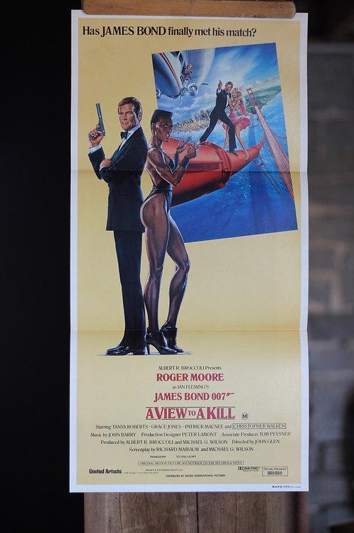 James Bond - A View to a Kill - daybill