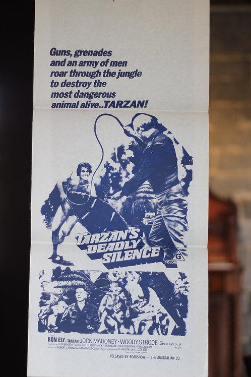Tarzan's deadly silence - daybill
