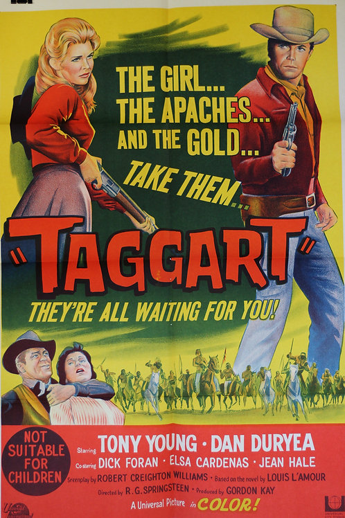 Taggart - one-sheet poster