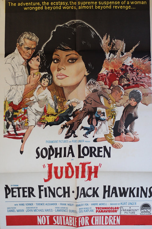 Judith -one-sheet poster
