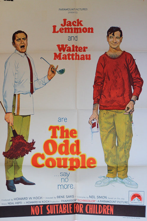 The Odd Couple - one-sheet poster