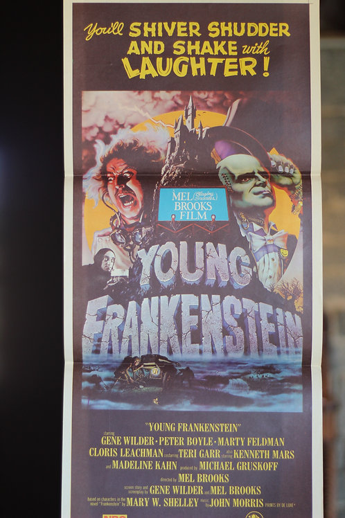 Young Frankenstein - daybill