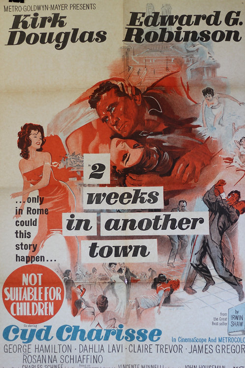 Two weeks in another town - one-sheet poster