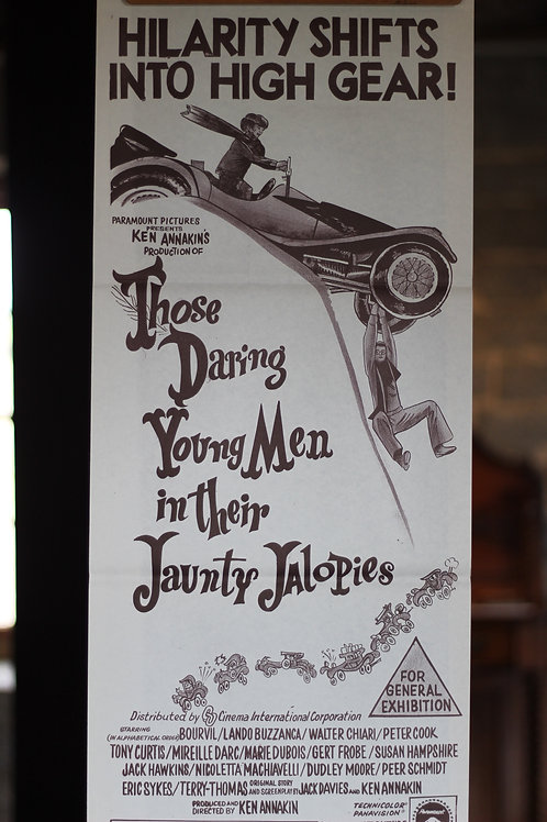 Those Daring young men in their Jaunty Jalopies - daybill
