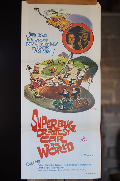 Herbie the Superbug - Craziest Car in the World - daybill
