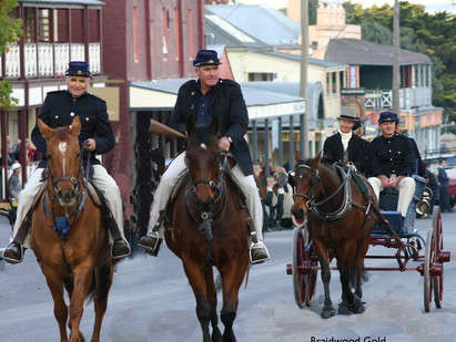 How an American-made sports-carriage became Braidwood's first armed Gold Escort