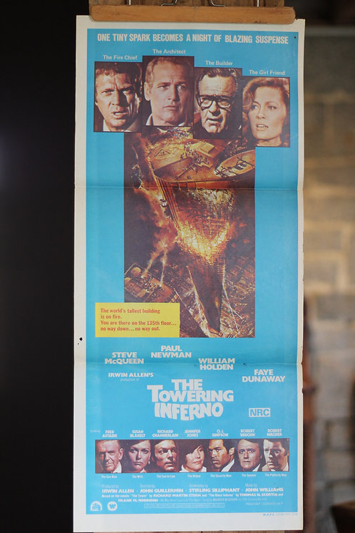 The Towering Inferno - daybill