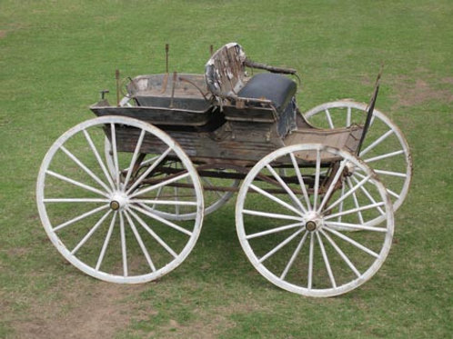 Unusual convertible Farmers' Wagonette-Utility