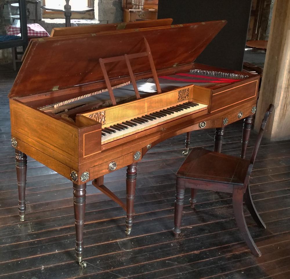 1806 Thomas Tomkison square Piano Forte
