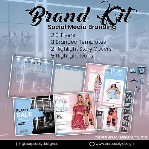 Social Media Brand Kit