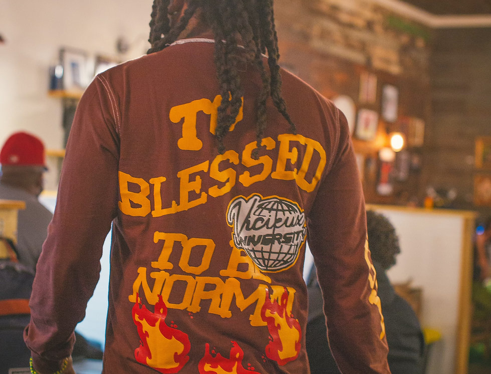 """Too Blessed To Be Normal"" Tee"