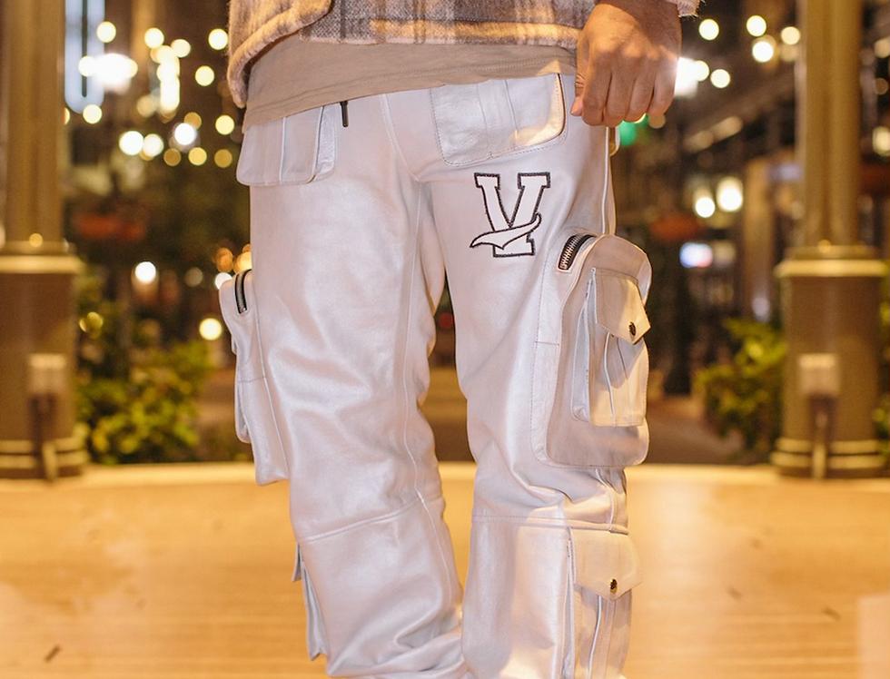 Silver Utility Pants