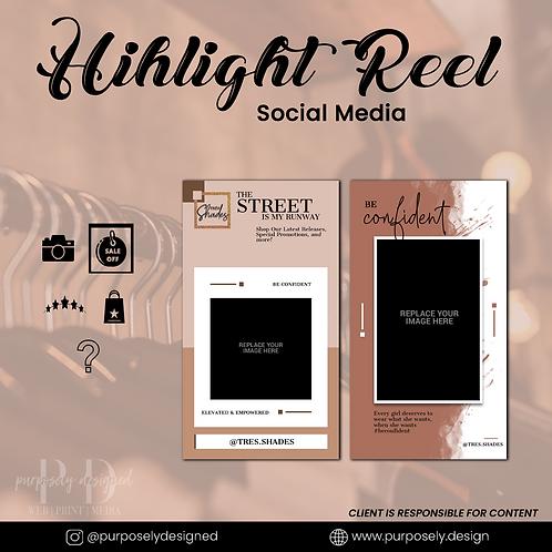 """Social Media  """"Highlight Reel"""""""