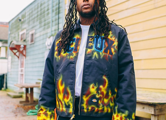 Vicieux X Dickies Airbrushed Work Jacket