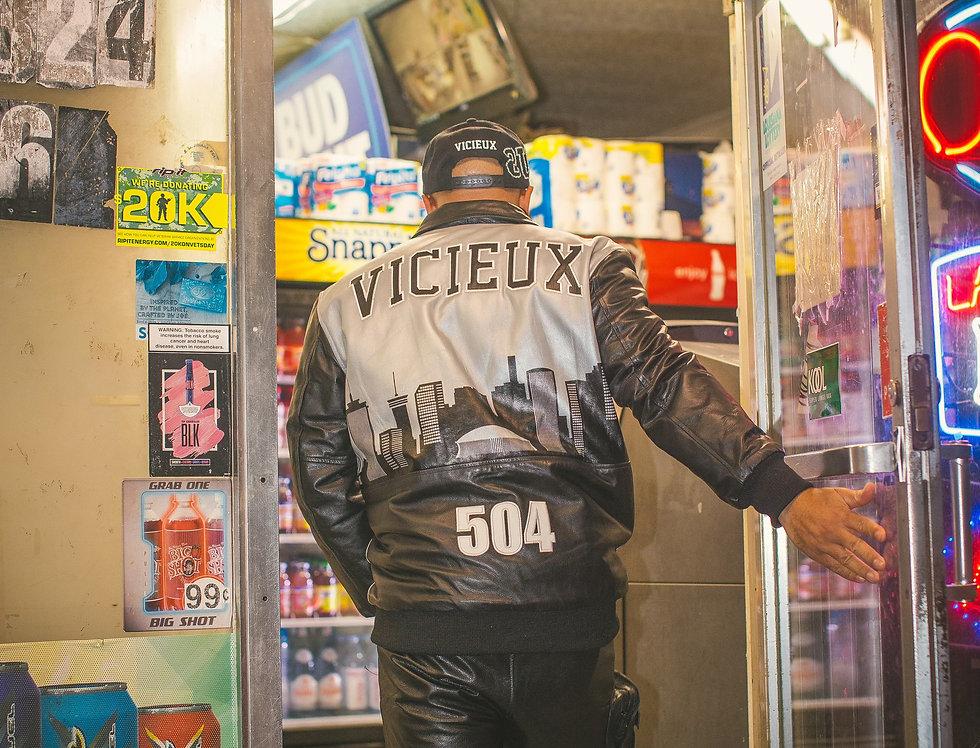 504 Leather Coach Jacket