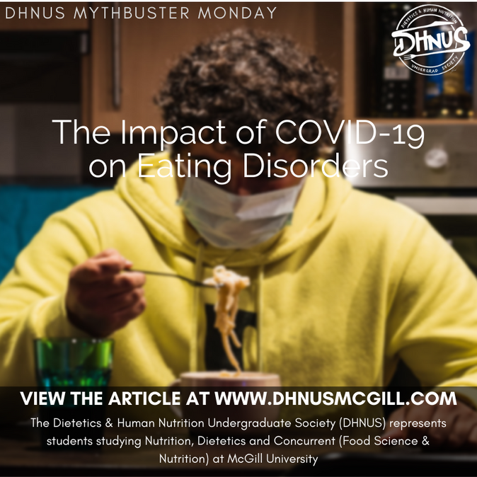 The Impact of COVID-19 on Eating Disorders