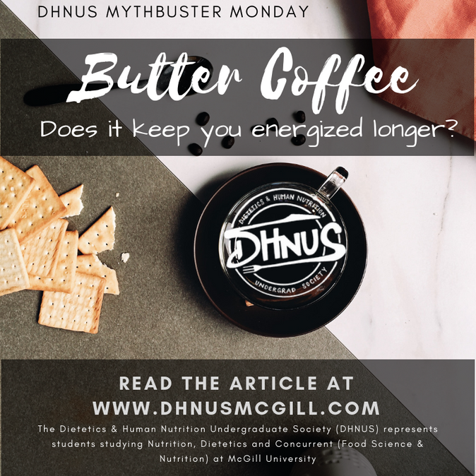 Mythbuster Mondays #3: Butter Coffee- Does it keep you energized longer?