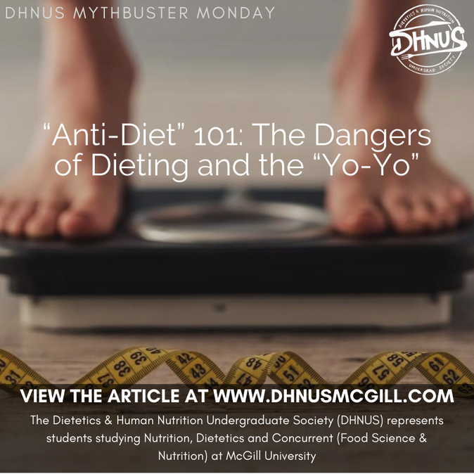 """Anti-Diet"" 101: The Dangers of Dieting and the ""Yo-Yo"""