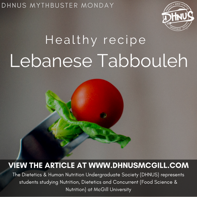 Lebanese Tabbouleh: The Darling of All Mediterranean Salads!
