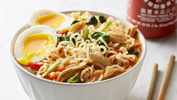 Recipe Monday #8: Making Instant Noodles Healthier
