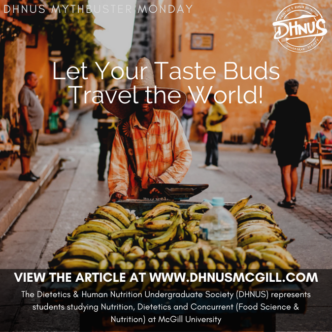 Let Your Taste Buds Travel the World!