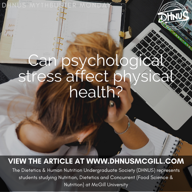 Can psychological stress affect physical health?
