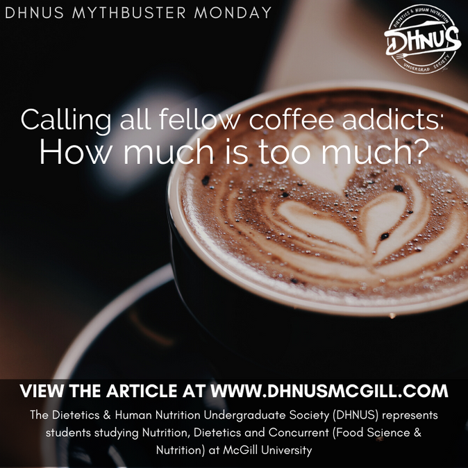 Calling all fellow coffee addicts: How much is too much?