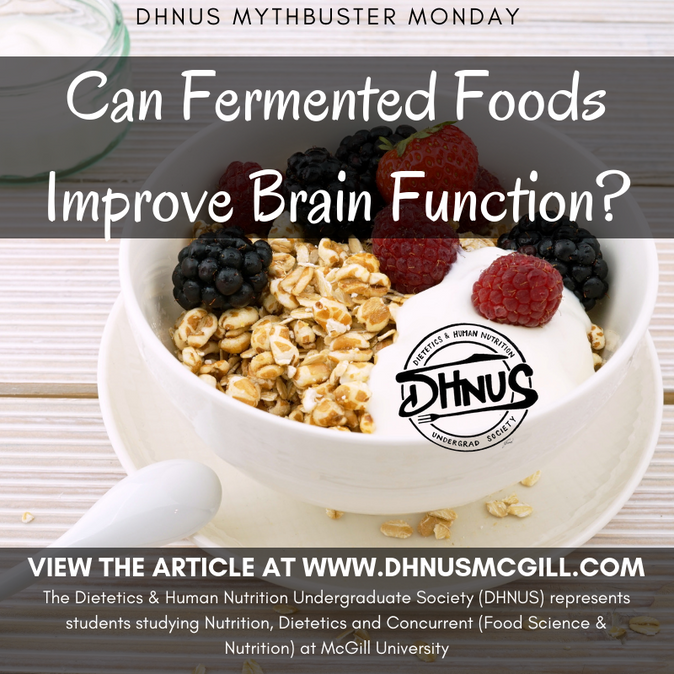 Mythbuster Monday #12: Can Fermented Foods Improve Brain Function?