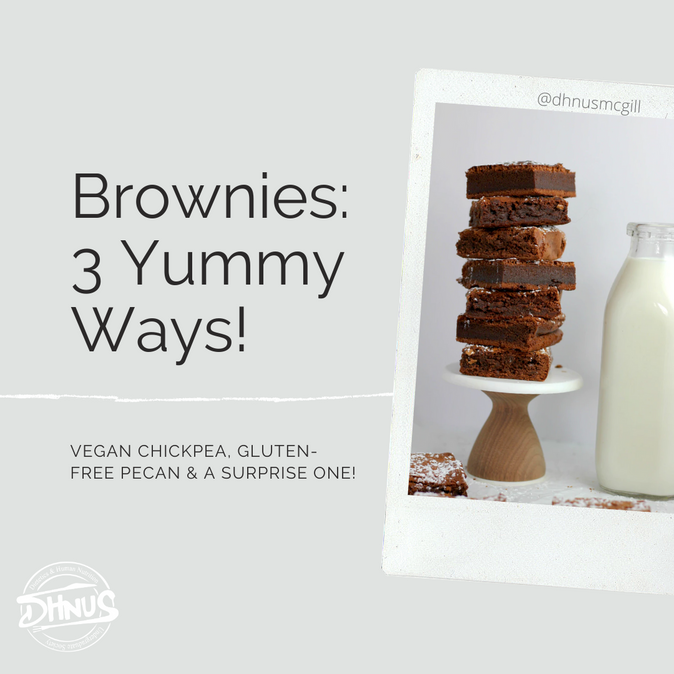Brownies: 3 Yummy Ways!
