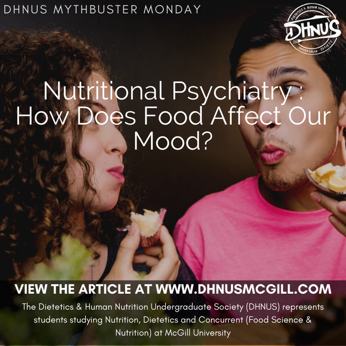 Nutritional Psychiatry : How Does Food Affect Our Mood?