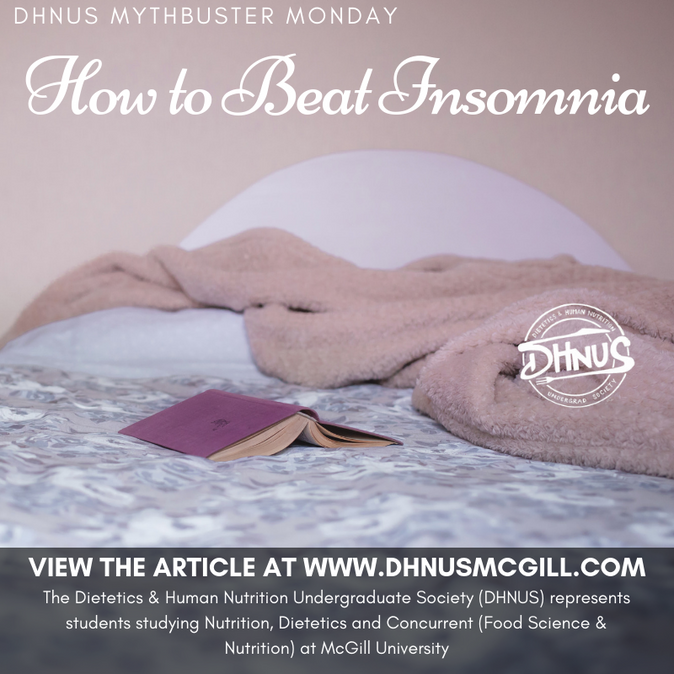 Mythbuster Monday #15: How to Beat Insomnia