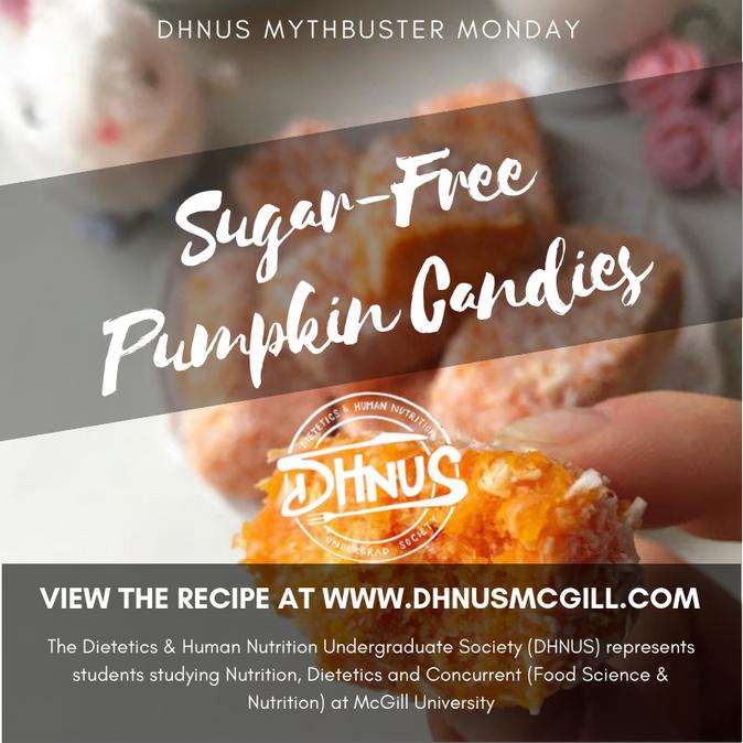 Recipe Mondays #2: Sugar-Free Pumpkin Candies