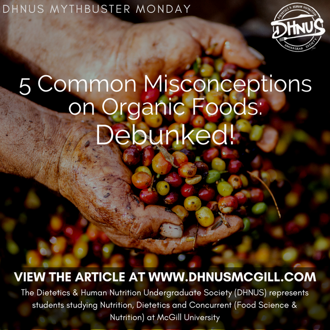 5 Common Misconceptions on Organic Foods: Debunked!