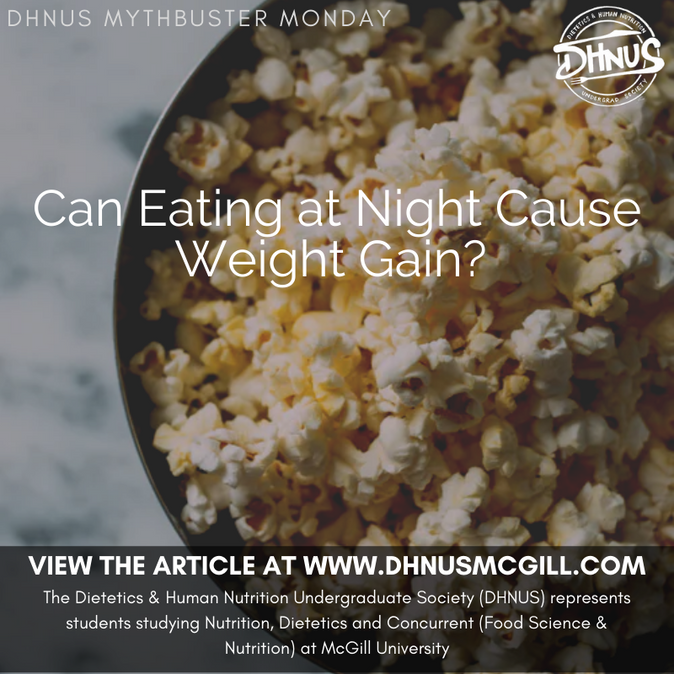 Can Eating at Night Cause Weight Gain?