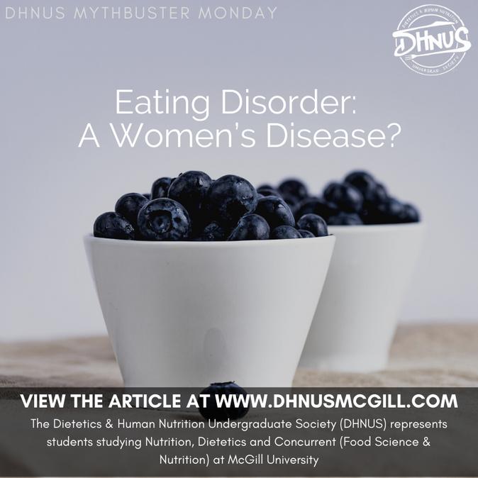 Eating Disorder: A Women's Disease?