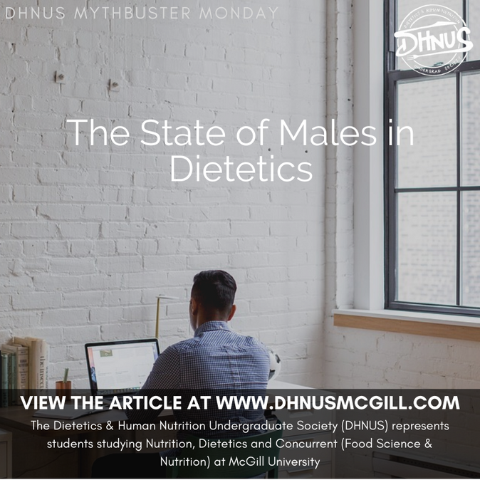 The State of Males in Dietetics
