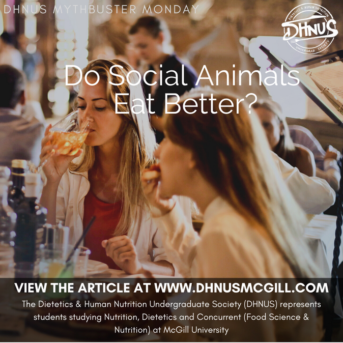 Do Social Animals Eat Better?