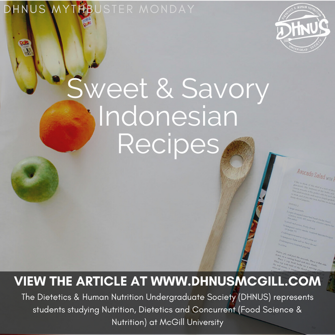 Sweet & Savory Indonesian Recipes