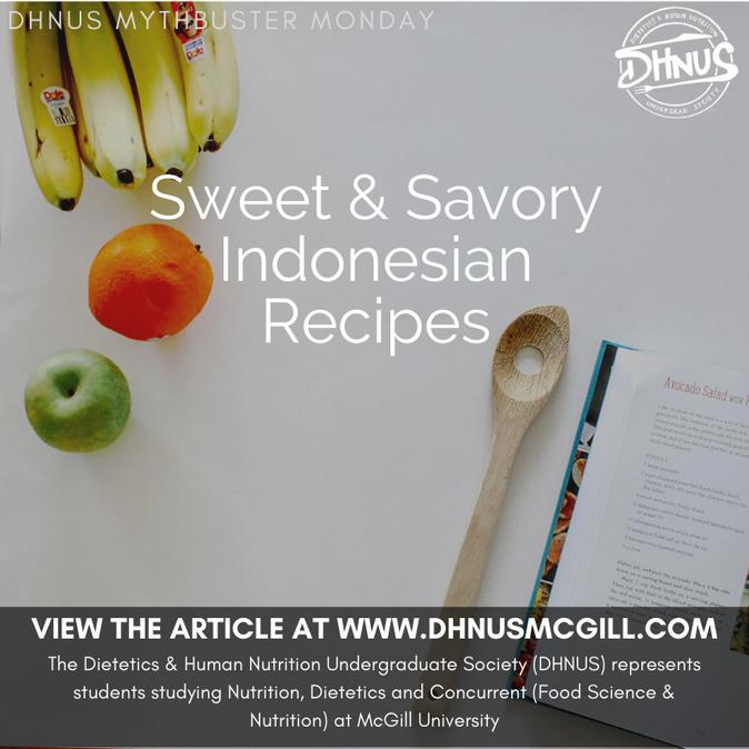 Sweet & Savory Indonesian Recipes