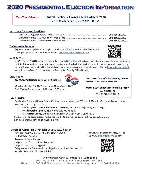 2020 Presidential Election Information.j