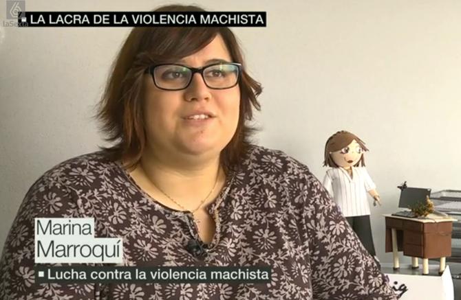 Entrevista a Marina Marroquí (La Sexta) tras programa #Elmachismomata SALVADOS