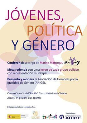AIVIG en Toledo. Jóvenes, Política y Género. 14 de abril