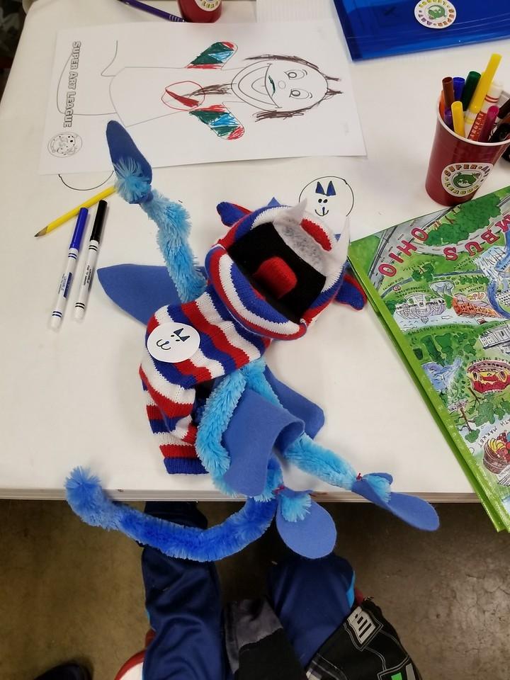 H-puppet building process