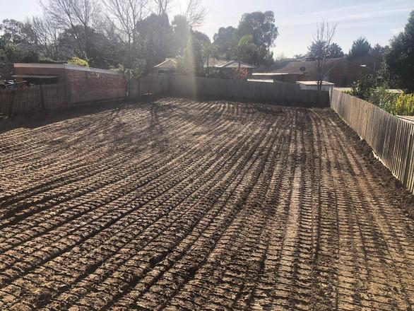Demolished site in Croydon