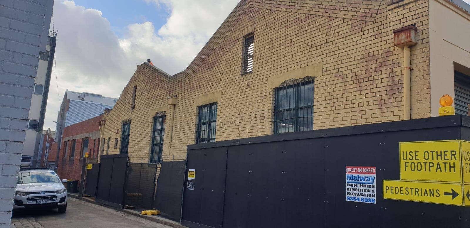 Commercial Demolition in North Melbourne
