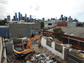 Factory Demolition in North Melbourne